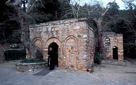 The house of Mother Mary near Selçuk in Turkey